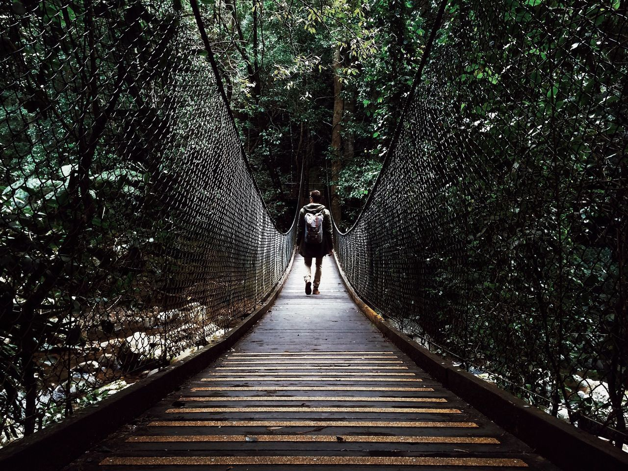 Beautiful stock photos of walk, Backpack, Chainlink Fence, Connection, Day