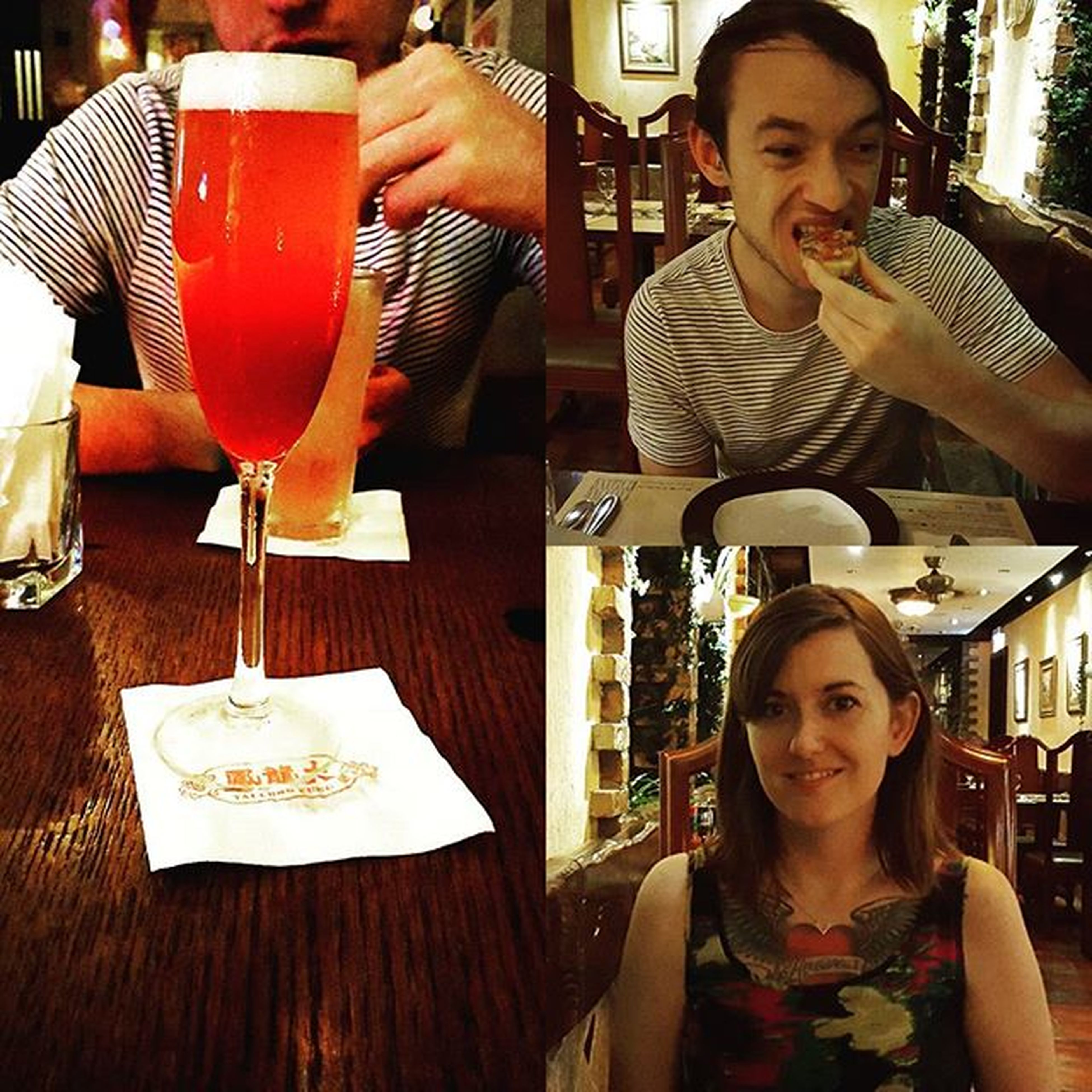 Treated my PJ to some Tuesdaynightcocktails at Tailungfung and an Italian meal at Lacucina tonight! Love living within walking distance of awesome bars and restaurants Wanchai Ourneighborhood HongKong Weekdaytreats