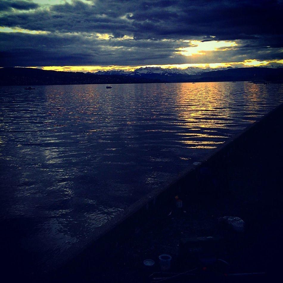 Dark colours Enjoying The Sun Eye4photography  Sea Beautiful Colours Nature Enjoying Life Water Reflections