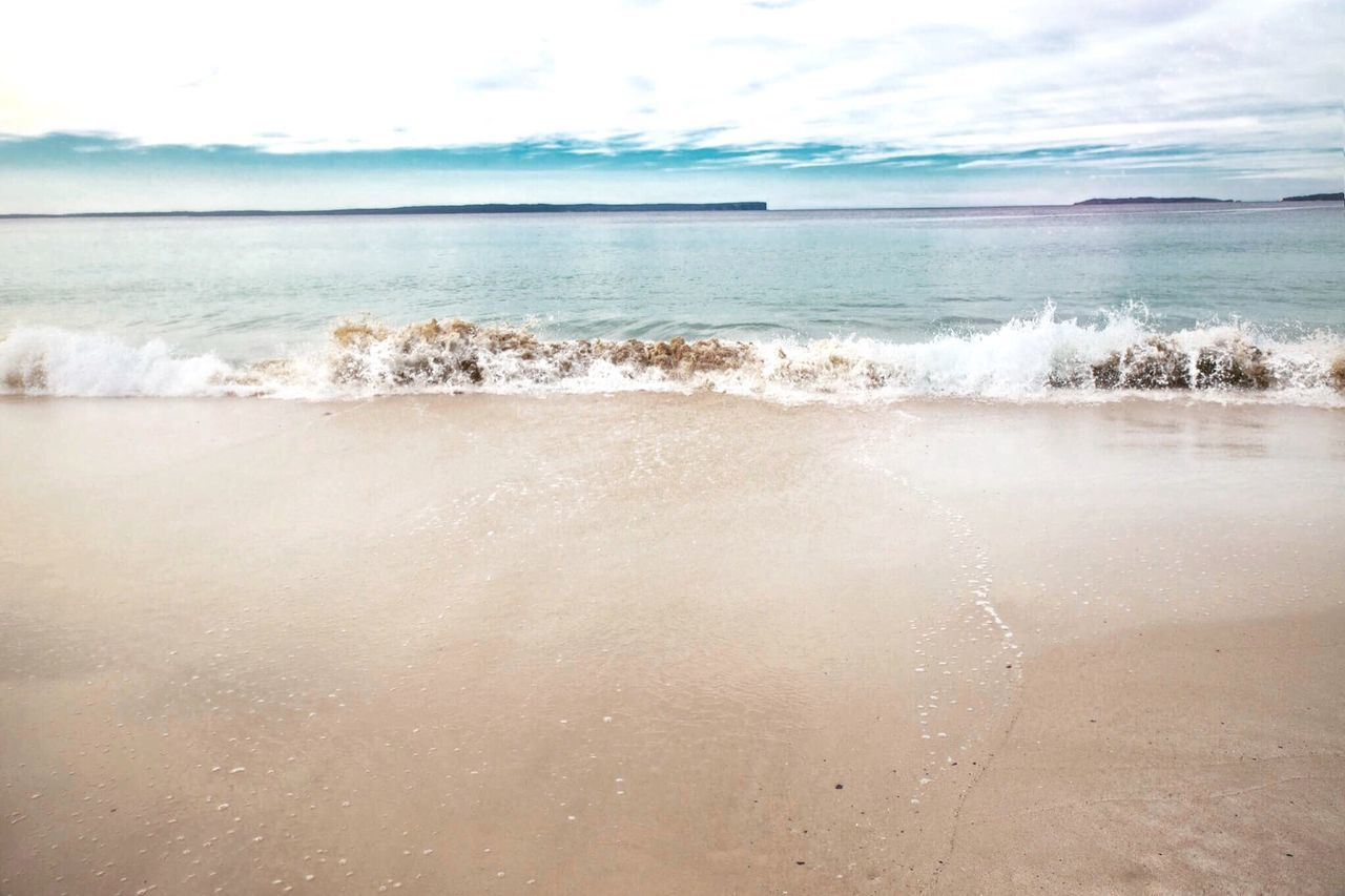 sea, water, beach, beauty in nature, horizon over water, scenics, nature, tranquility, tranquil scene, sky, sand, day, no people, outdoors, wave