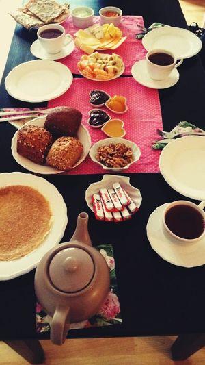 Breakfast Foodporn Sunday Morning Tea