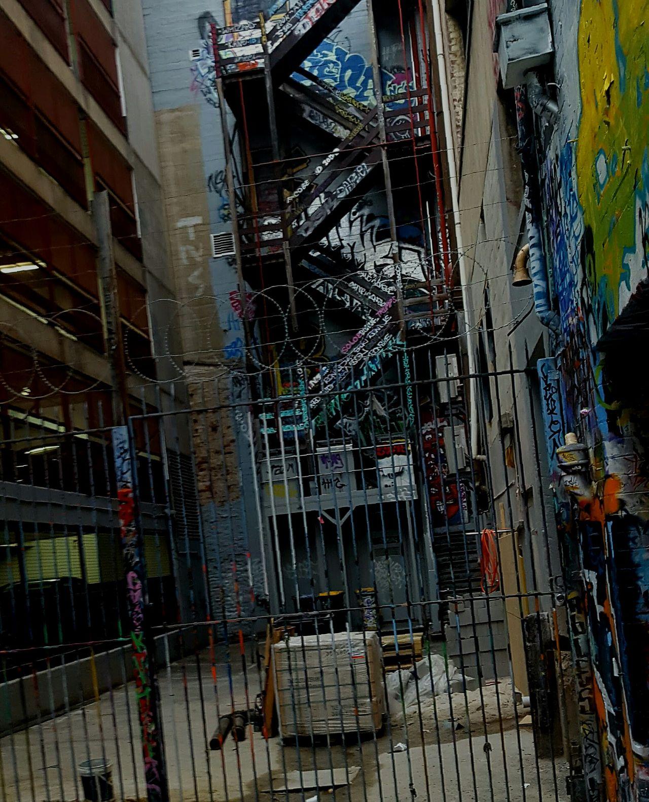 Street art Street Art Building Stsirway Laneway Melbourne Graffiti