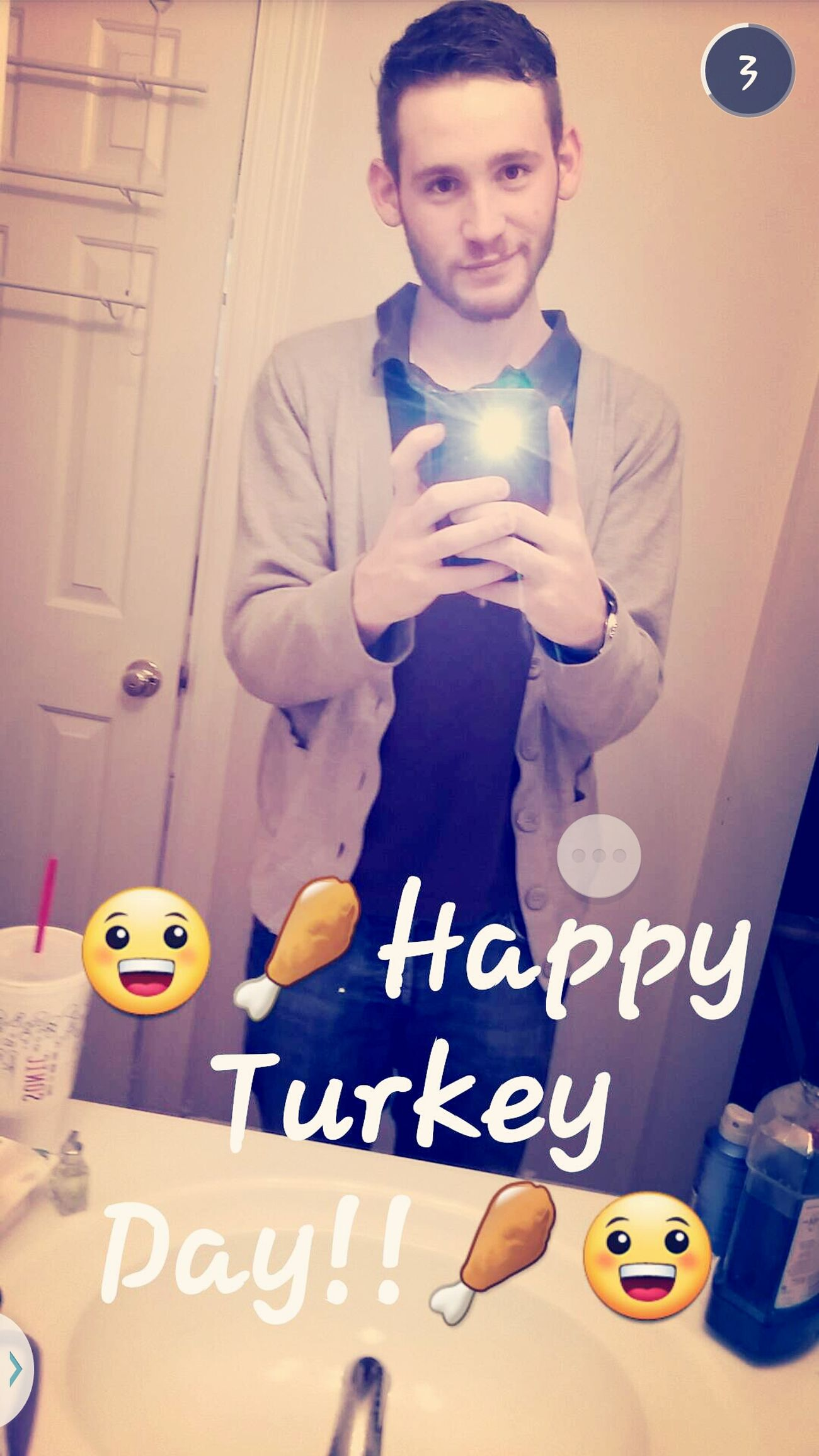 Happy Turkey Day everybody!!Happy Thanksgiving Selfie Sexy Me Snapchat Me