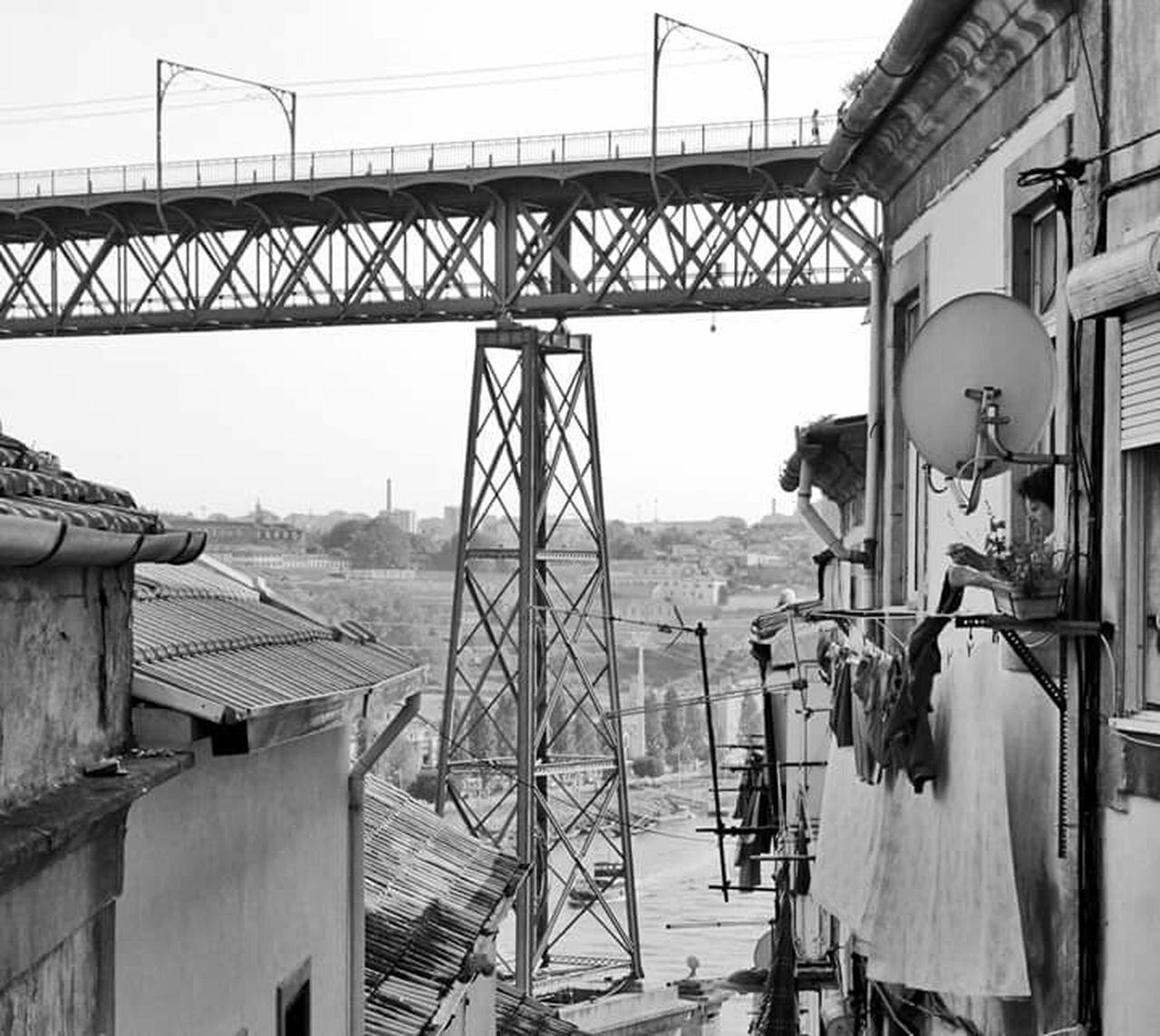 UNESCO World Heritage Site Porto Portugal Bridge Luiz I Bridge Downtown