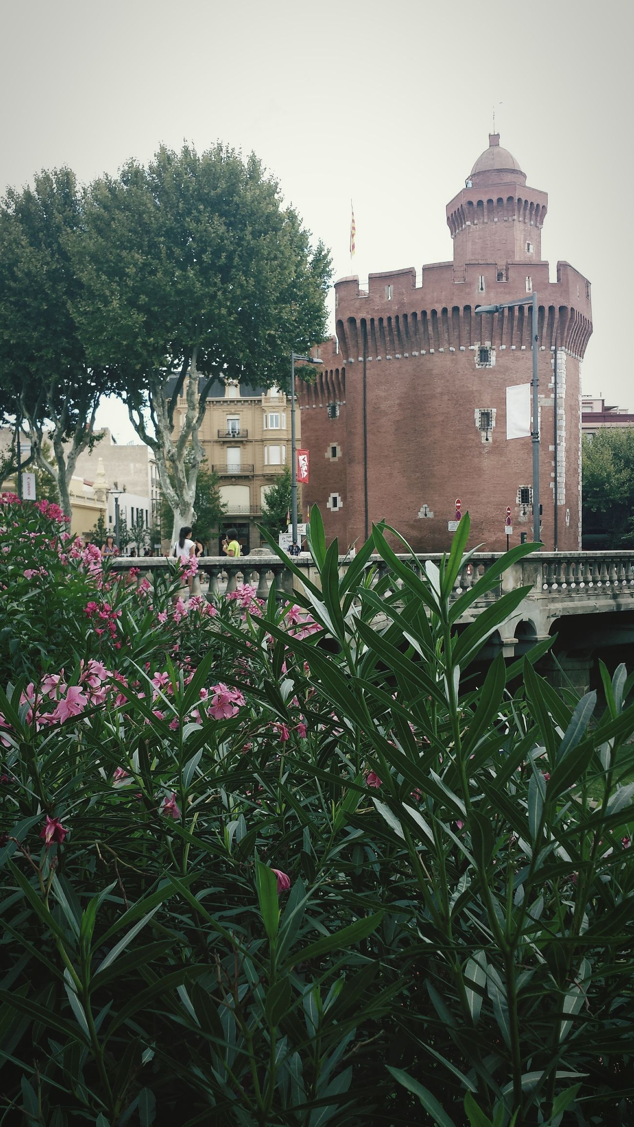 Perpignan South France Tower Le Castillet