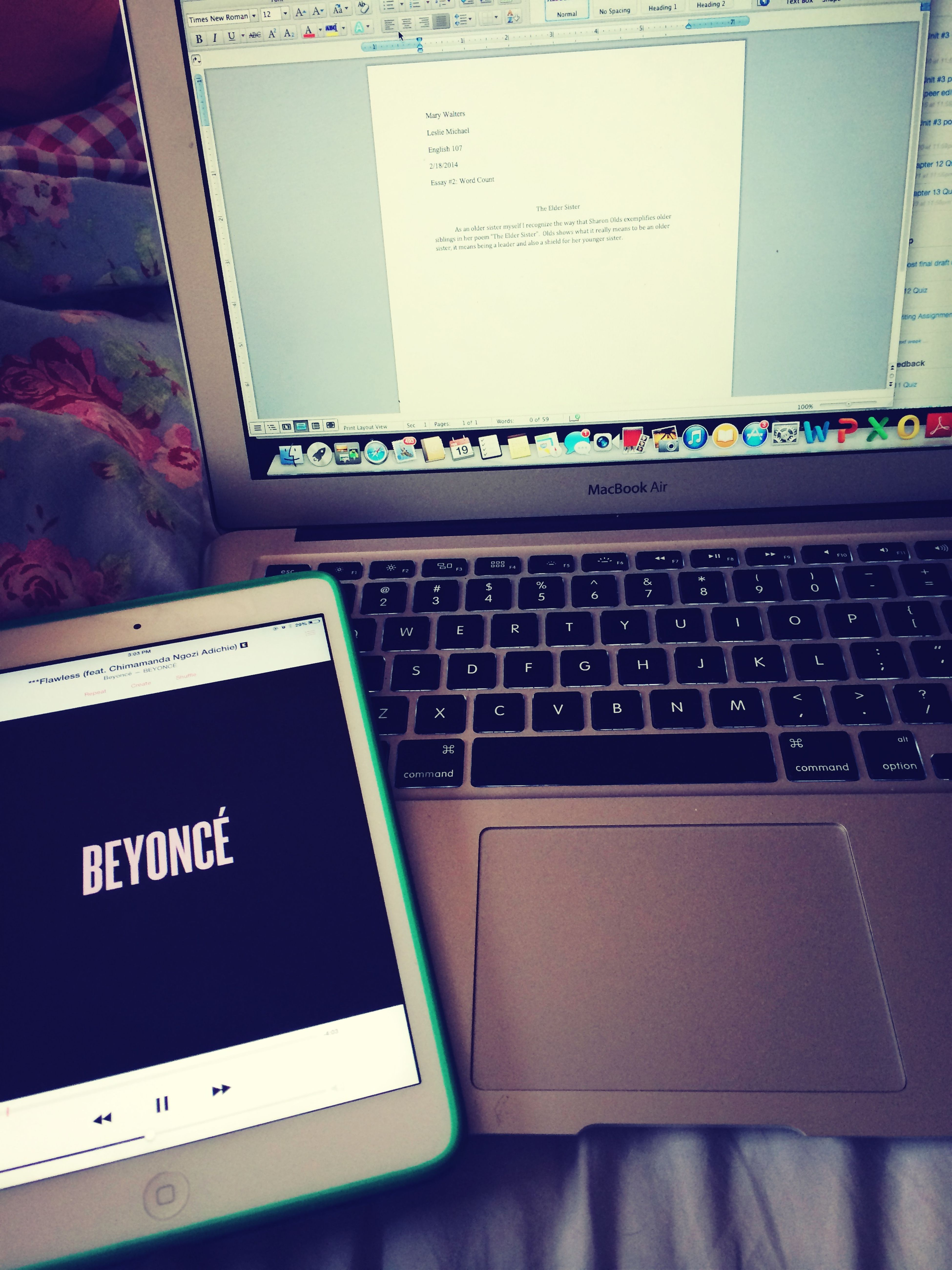 Everyday Life Beyonce ❤ Homework Is For Nerds