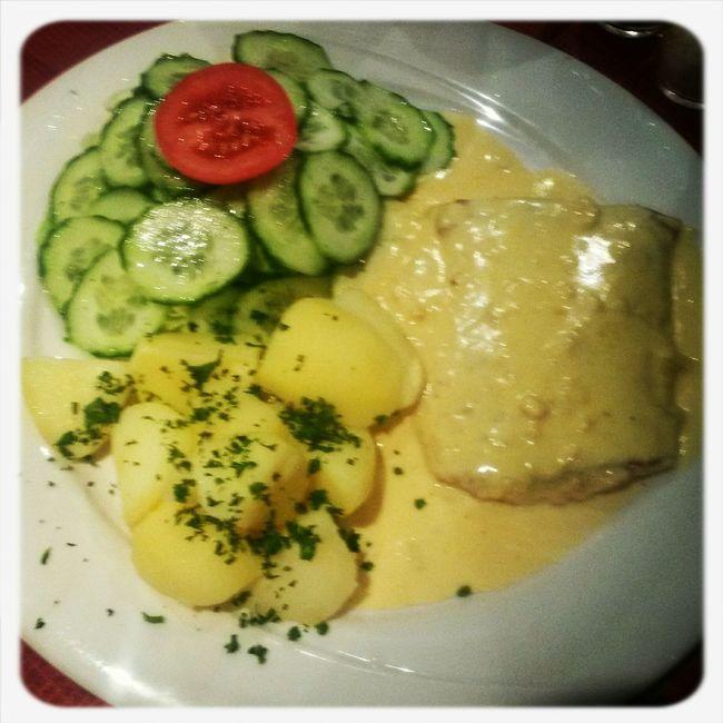Dinner Fish Potatoes