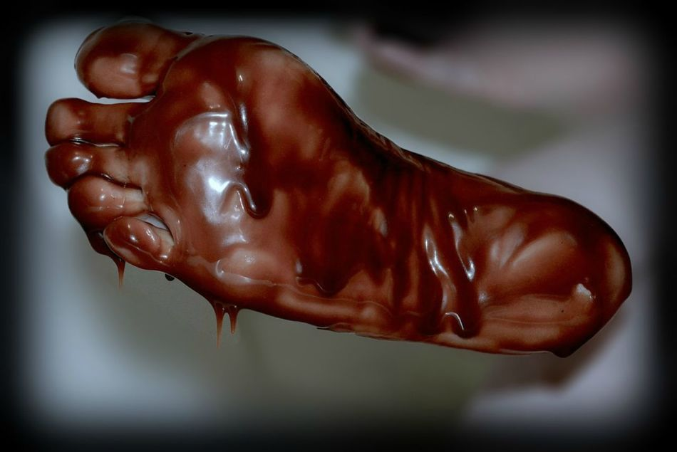 Chocolate Covered Foot Brown Chocolate Chocolate Sauce Close-up Coated Covered Day Drip Dripping Feet Fetish Focus On Foreground Foot Foot Art Foot Selfie Foot Sole Foot Soles Footfetish Footfetishnation Part Of Selective Focus Smothered Sole Toes Tootsies