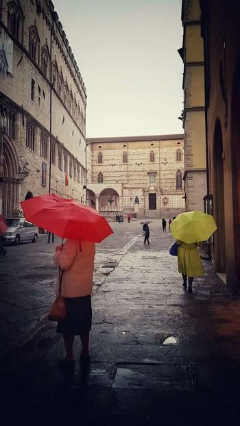 Rain Holiday Perugia Italy Beautiful Walking Around Clouds And Sky Umbrellas Colors Mobilephotography Funny Taking Photos Enjoying Life
