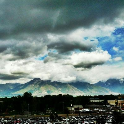 Storm at Intermountain Medical Center by Adam