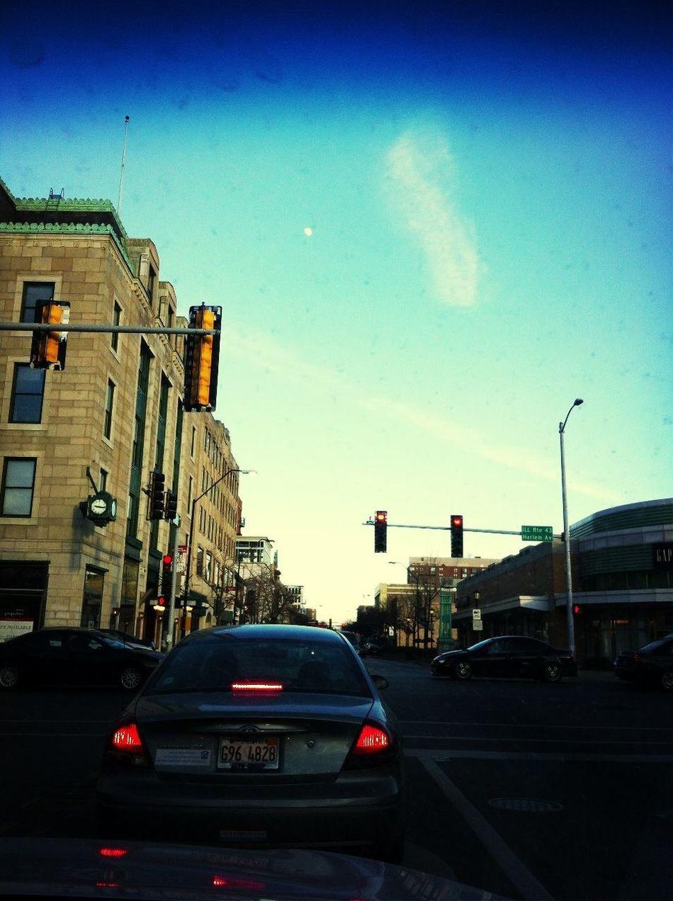 Downtown In Oak Park IL