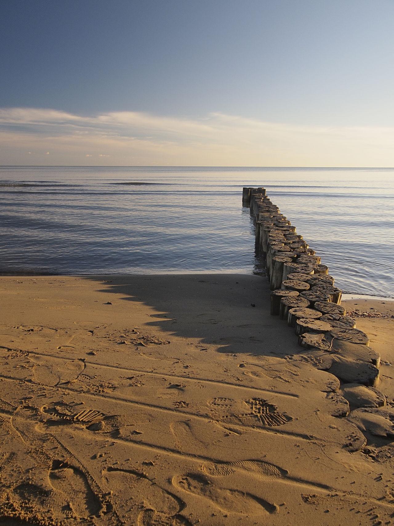 Beach Blue Calm Cloud - Sky Day Eye4photography  EyeEm Best Shots EyeEm Gallery Horizon Over Water Non-urban Scene OlympusPEN Outdoors Sand Sea Shore Sky Tranquil Scene Tranquility Water Zuiko Digital