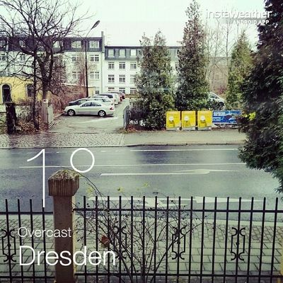Good morning Dresden, good morning world. Worst case happened, no coffee in the house. :-/ #NoCoffeeTweet Nocoffeetweet