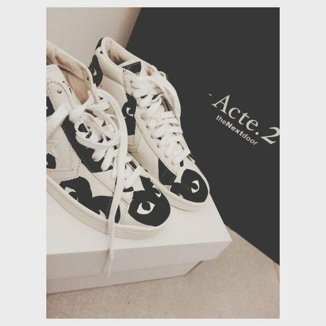 Comme Des Garcons Converse Thenextdoor Shoes Original Coeur