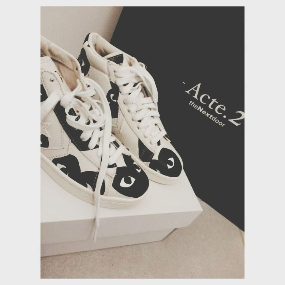 Comme Des Garcons Converse Thenextdoor Shoes Original Coeur