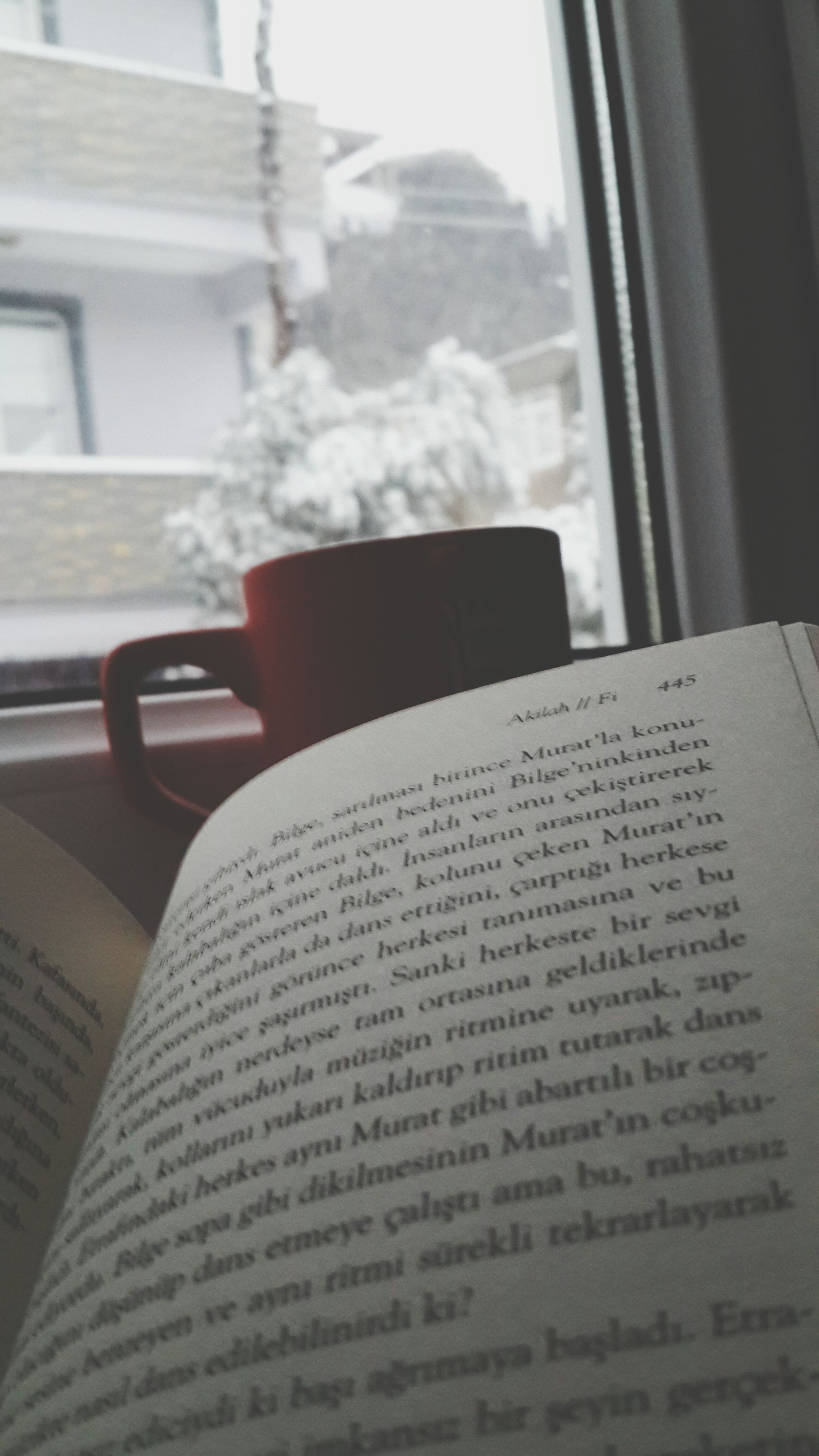 indoors, book, close-up, focus on foreground, table, communication, home interior, selective focus, text, still life, window, education, paper, open, day, western script, no people, absence, single object, bed