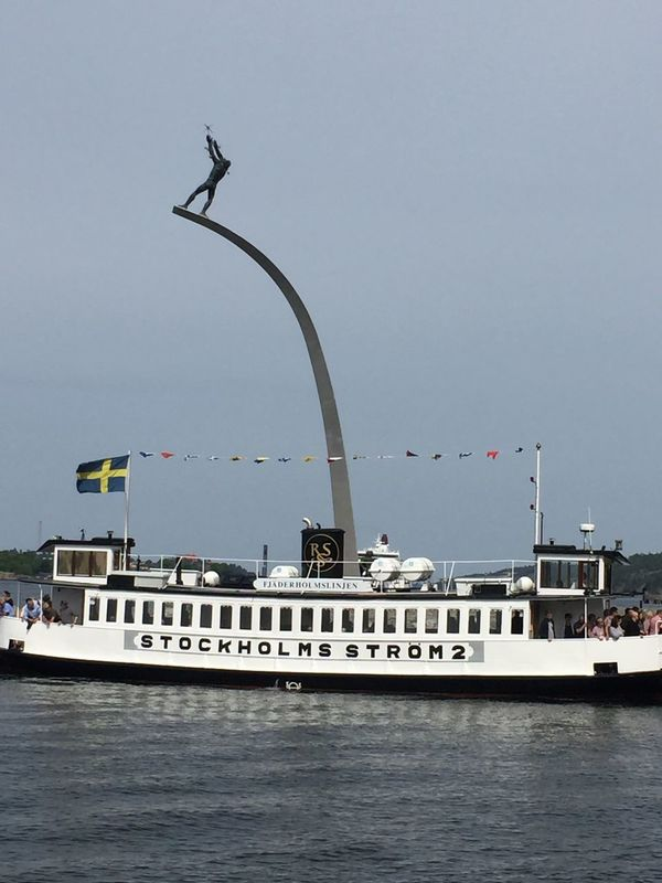 Transportation Clear Sky Waterfront Mode Of Transport Outdoors Nautical Vessel Stockholm, Sweden Nacka Strand Sea