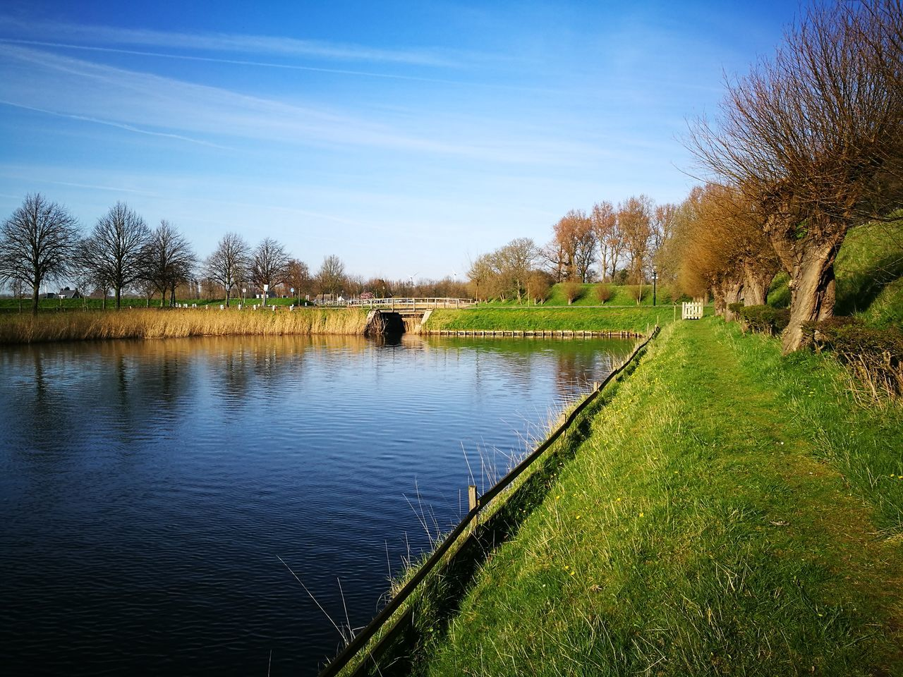 Rustic Water Outdoors Nature Tranquility Landscape Scenics Beauty In Nature No People Rural Scene Countryside Countryfield Rustic Style Beauty In Nature Nature Dutch Dutch Landscape Dutch Landscapes Dutch Countyside Dutch Canals Farmland