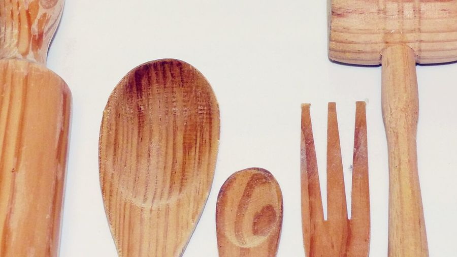 Everything In Its Place Pastel Power Kitchen Utensils Kitchen Utensil Kitchen Roll Spoon Stick Wooden Spoon Wooden Fork Fork Stick Close Up