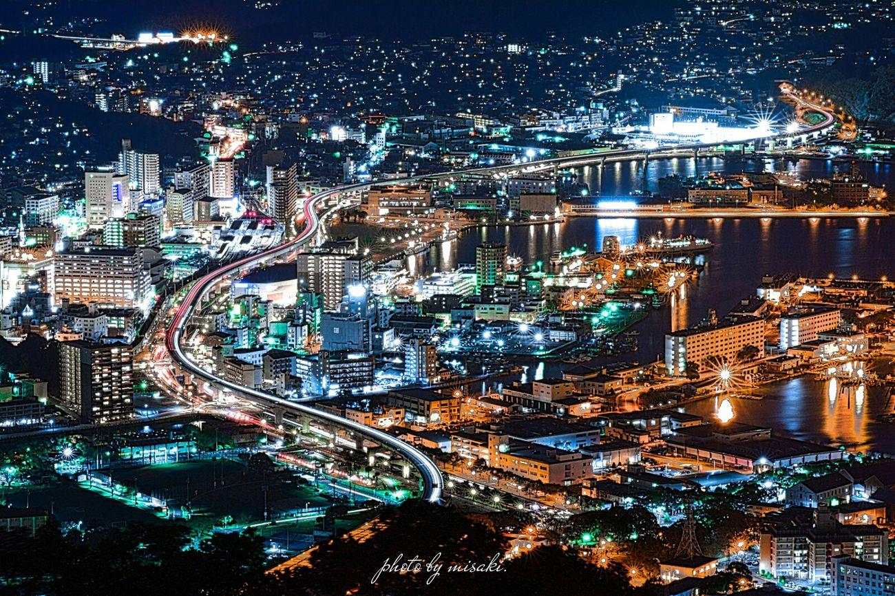 夜景 弓張 佐世保 Night 長崎 Night View Japan