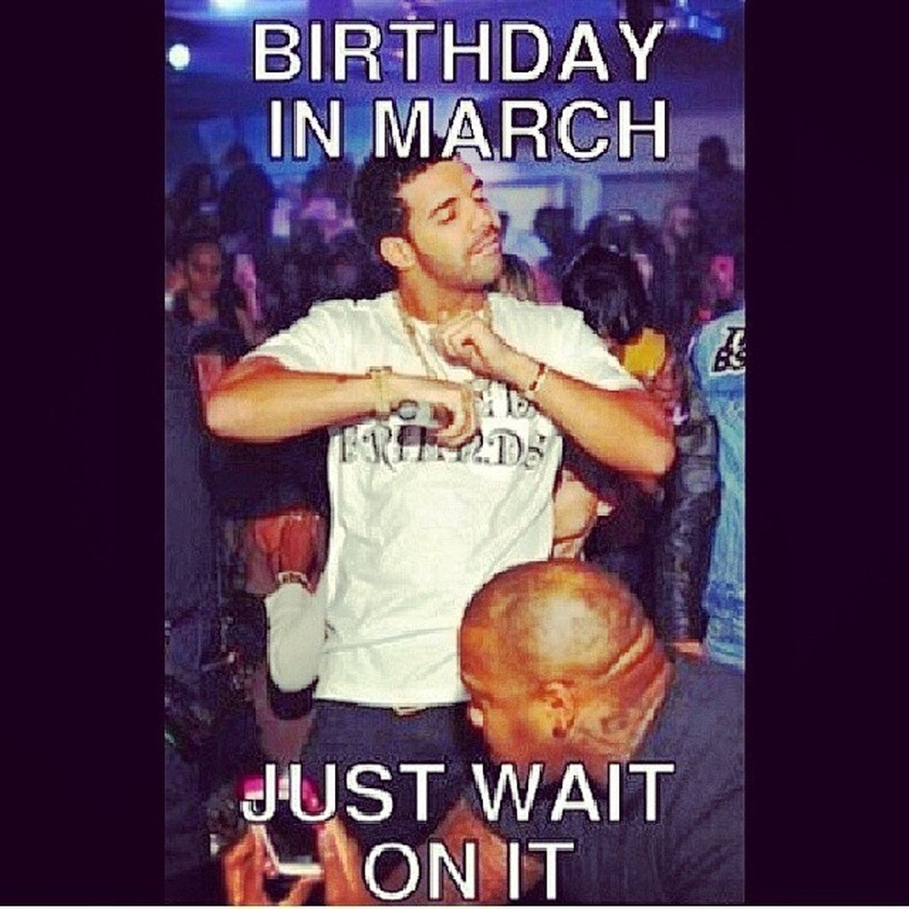 Hell yeah Boii can't wait on it March7 WeAboutToGetTurnUp Letsparty