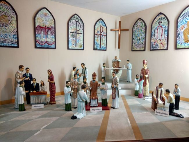 Religion Mid Adult Full Length Indoors  Musician Mid Adult Men Spirituality People Adult Togetherness Men Day Large Group Of People Standing Musical Instrument Music Only Men Satue Not Real People Portrait God Worshiping God