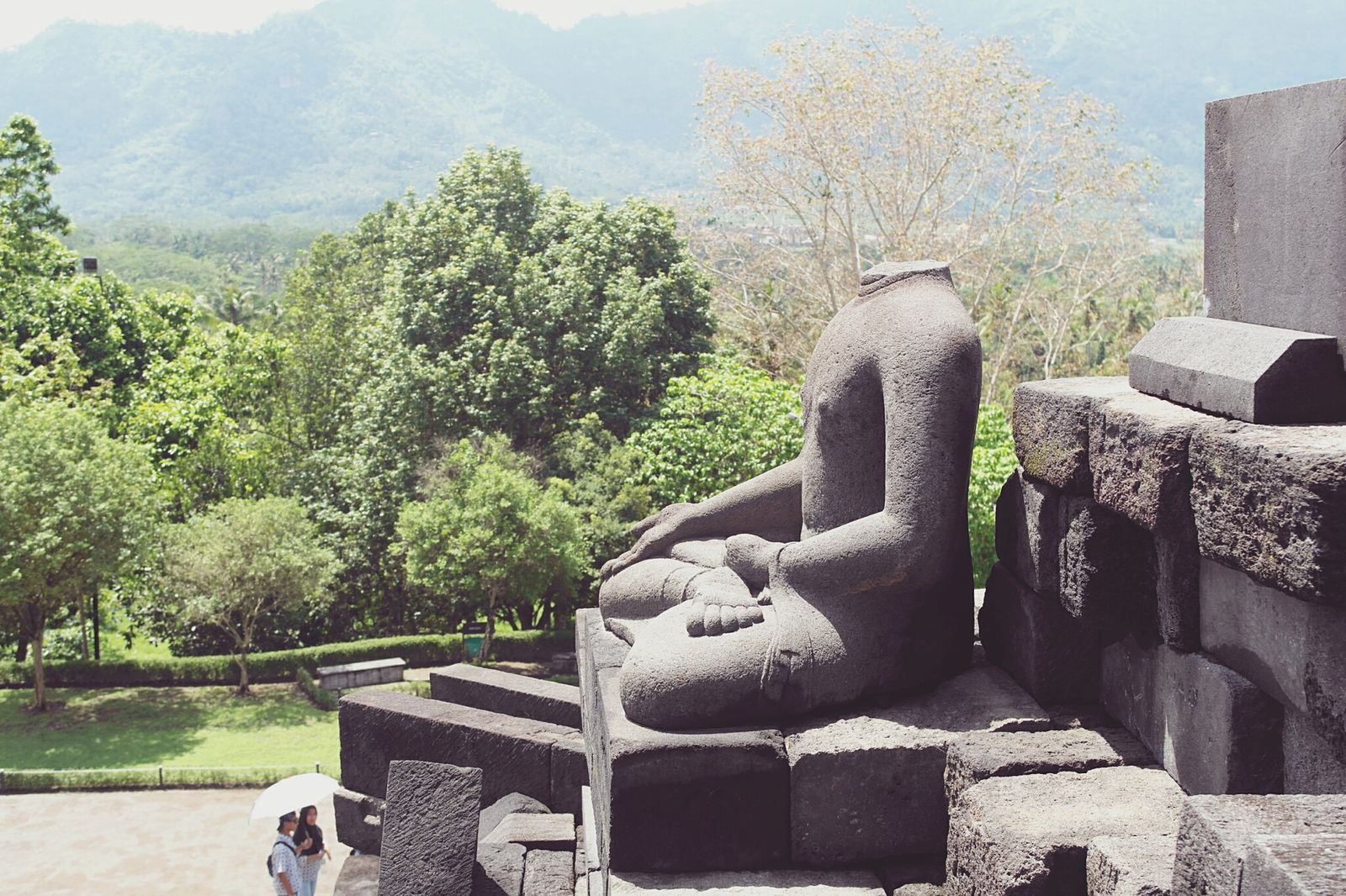 Hello World Holiday Trip Taking Photos Check This Out Throwback Trees Candiborobudur Magelang INDONESIA