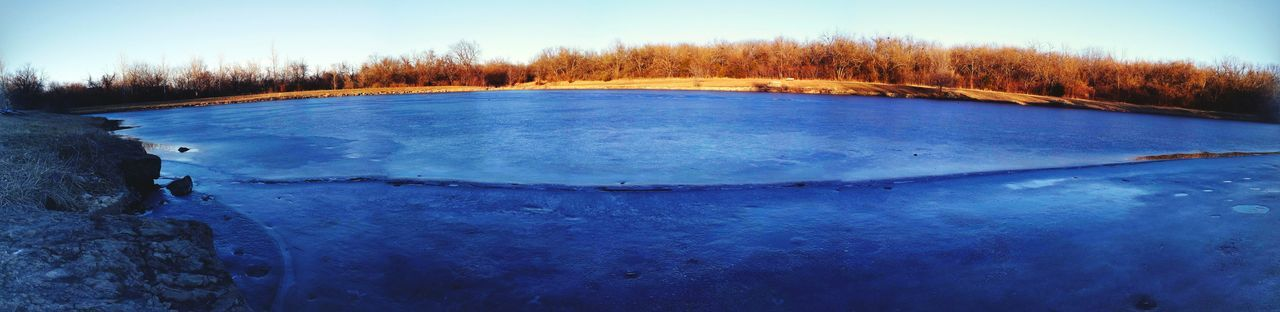 Kansas Frozen Pond Warmerweather