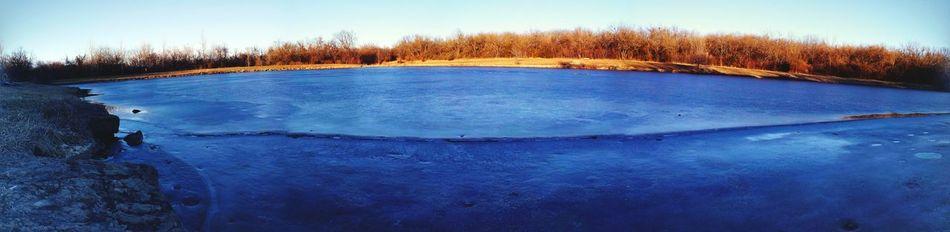 Kansas Frozen Pond Warmerweather
