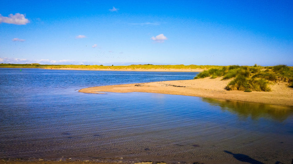 Blue Reflection Sky Nature Water Outdoors Scenics No People Malahide