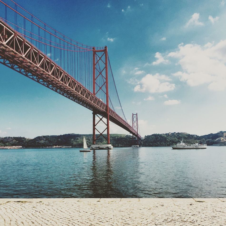Beautiful stock photos of bridge, Architecture, Bridge - Man Made Structure, Built Structure, Cable-stayed Bridge