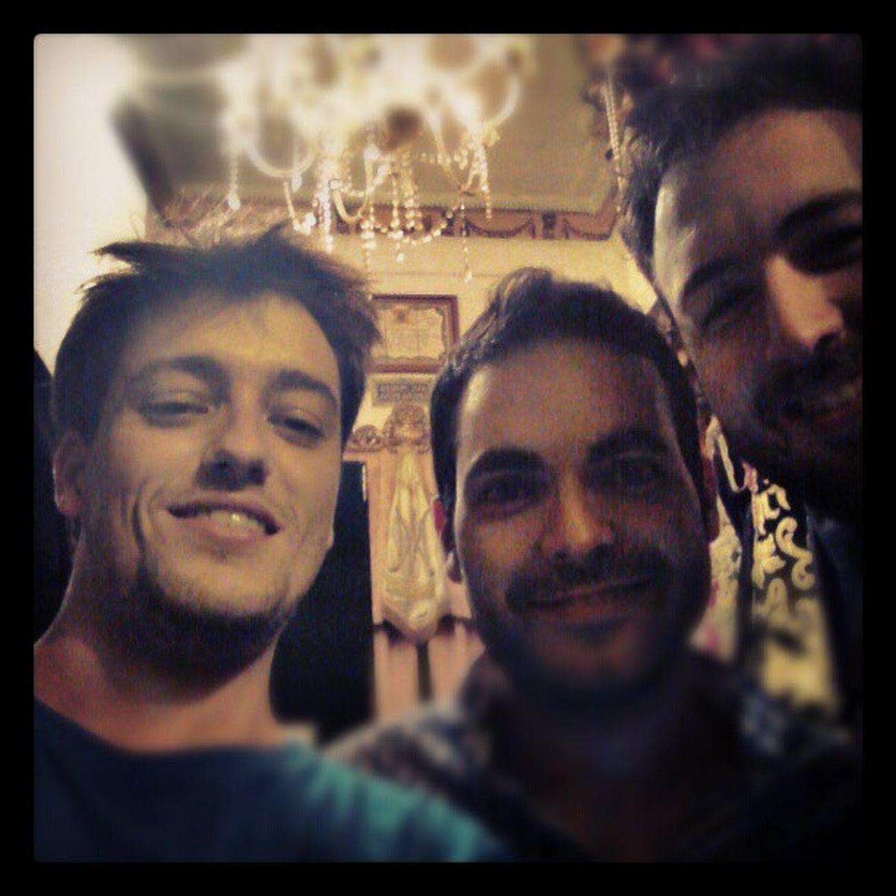 Hacía años que no coincidía con los geniales @david_martos y @juanlusanchez ^_^ Ebe12