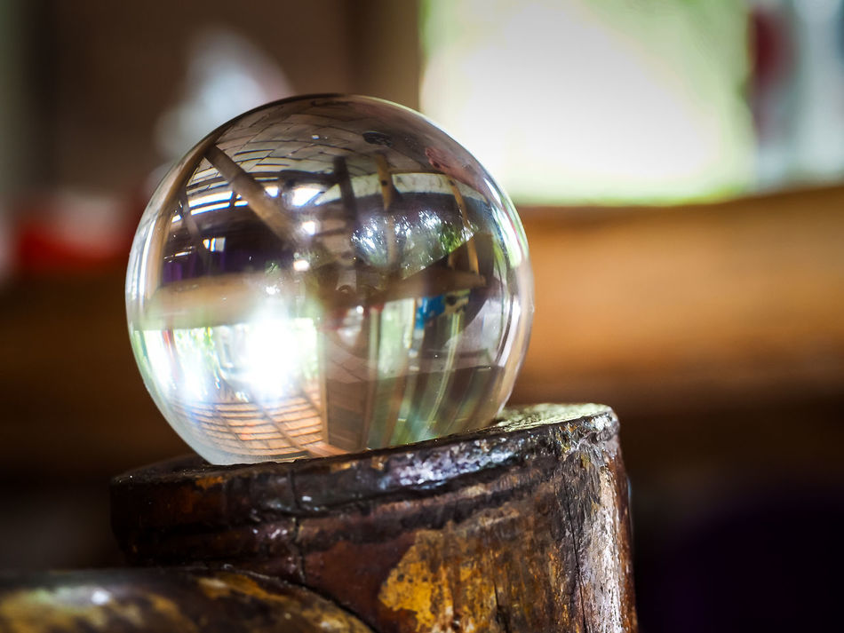 Jeans Brown Photography - Close-up Day Focus On Foreground Glasball Glass - Material Indoors  No People Shiny Table