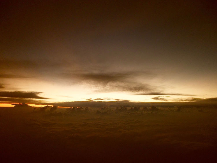 Picture taken at Central Africa Sky Beauty In Nature Cloud - Sky Day Dramatic Sky Idyllic Landscape Nature No People Outdoors Scenics Silhouette Sky Storm Cloud Sunset Tranquil Scene Tranquility