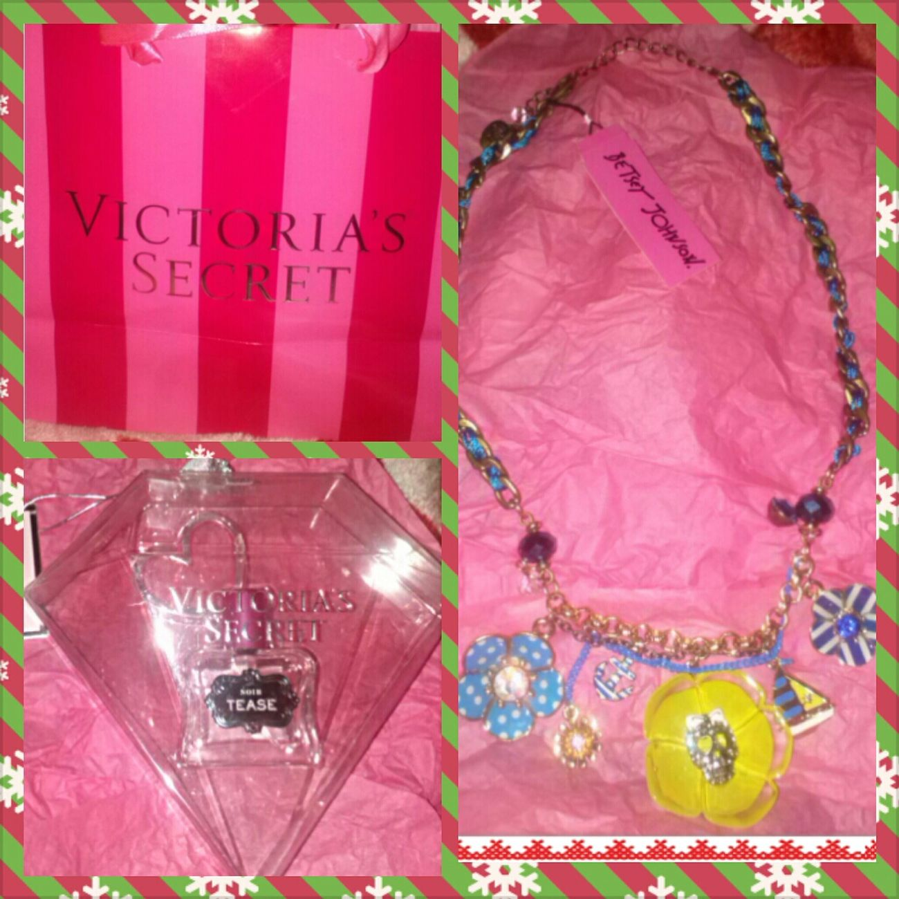 Christmas Perfume Jewelry Husband Victorias Secret Betsey Johnson