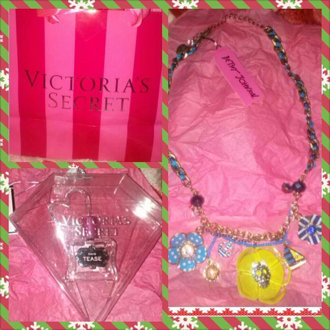Christmas Perfume Jewelry Husband Victorias Secret Betsey Johnson