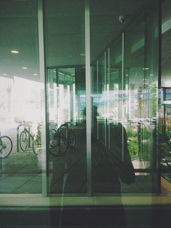 Architecture Building Built Structure City Day Empty Introspection Modern No People Parking Reflection Stationary
