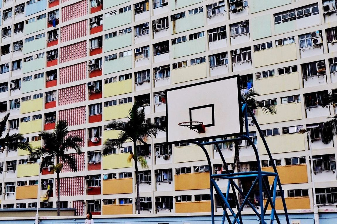 Architecture Built Structure Building Exterior Full Frame Day No People Outdoors Choi Hung Estate 🇭🇰🏀