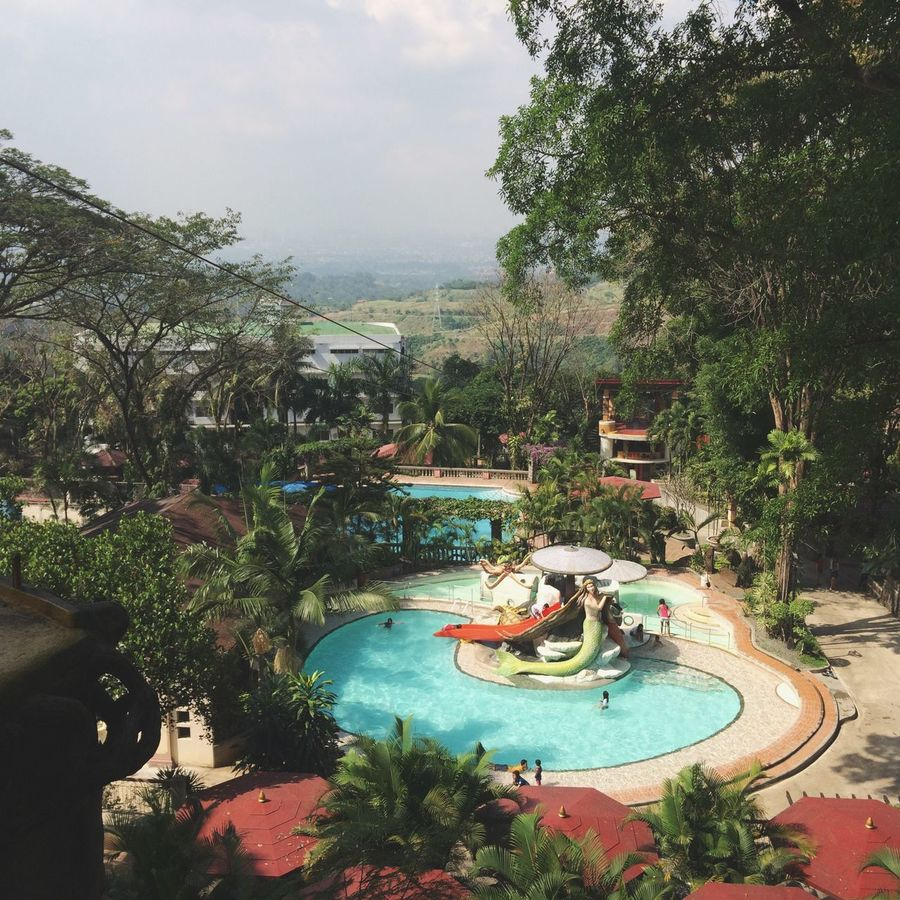 Pools and Trees Resort Pools  Trees Water Brown Antipolo Philippines Photography Blue Christina Villas Check This Out Amazing View