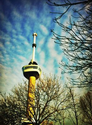 Taking Photos at Euromast by Fred Monster