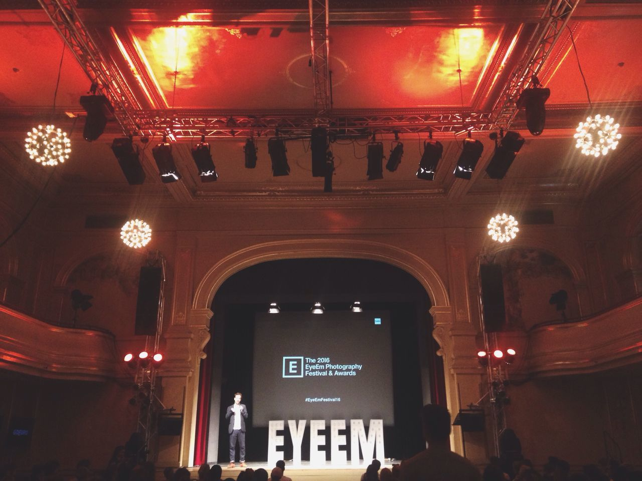 So proud of our team. Welcome to Eyeemfestival16
