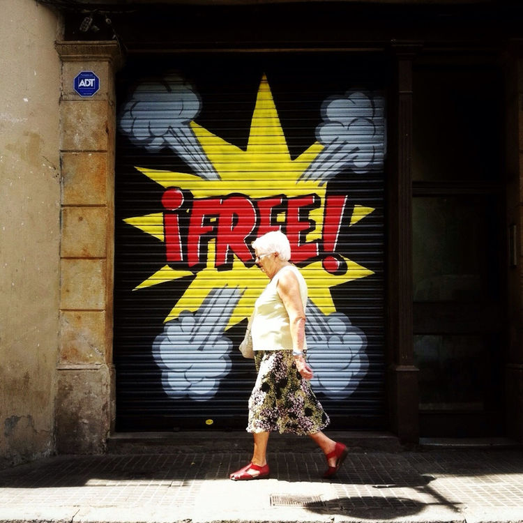 Typography in Barcelona by sushidetortilla