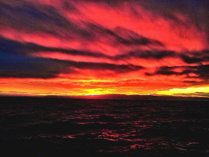 Sunset Pn The Sea