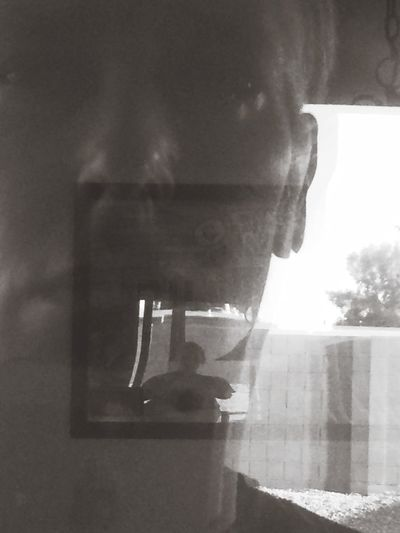 Reflection Outside Looking In My House Selfie Selfie Portrait Thats Me  Looking Backatmyself Picturing Individuality IPhoneography What Are YOU Looking At?