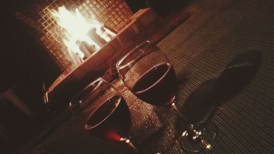 No People Indoors  Close-up Night EyeEmNewHere Mindful Alone But Not Lonely Real People Wine Fire Light Fire Wine Moments Red Wine Wineglass Dark Warm Thoughtful Relax Time  Art Is Everywhere