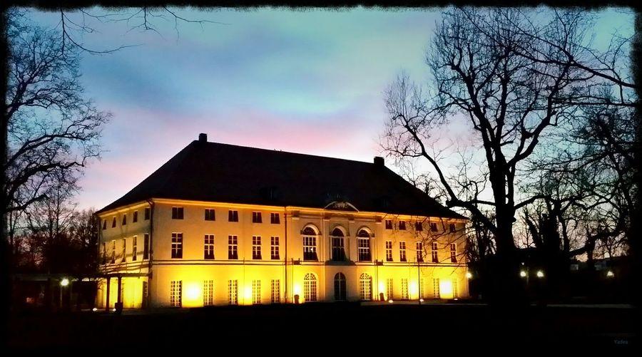 Berlin Schloss Schönhausen Sonnenuntergang Galaxy Note 3 Frühling 2015 Yadea