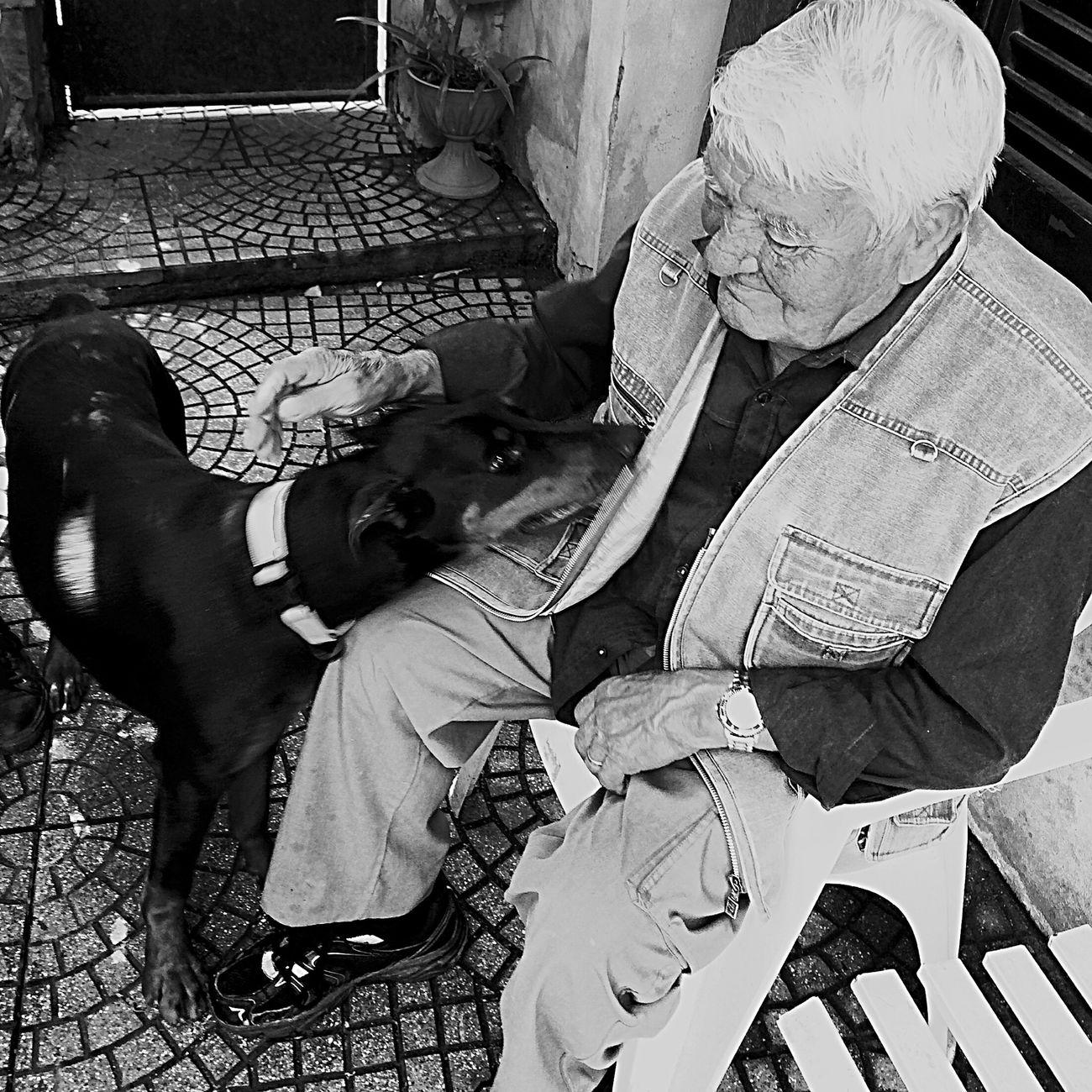 Snapshots Of Life Granfather Blackandwhite Love Smile Hello World Family