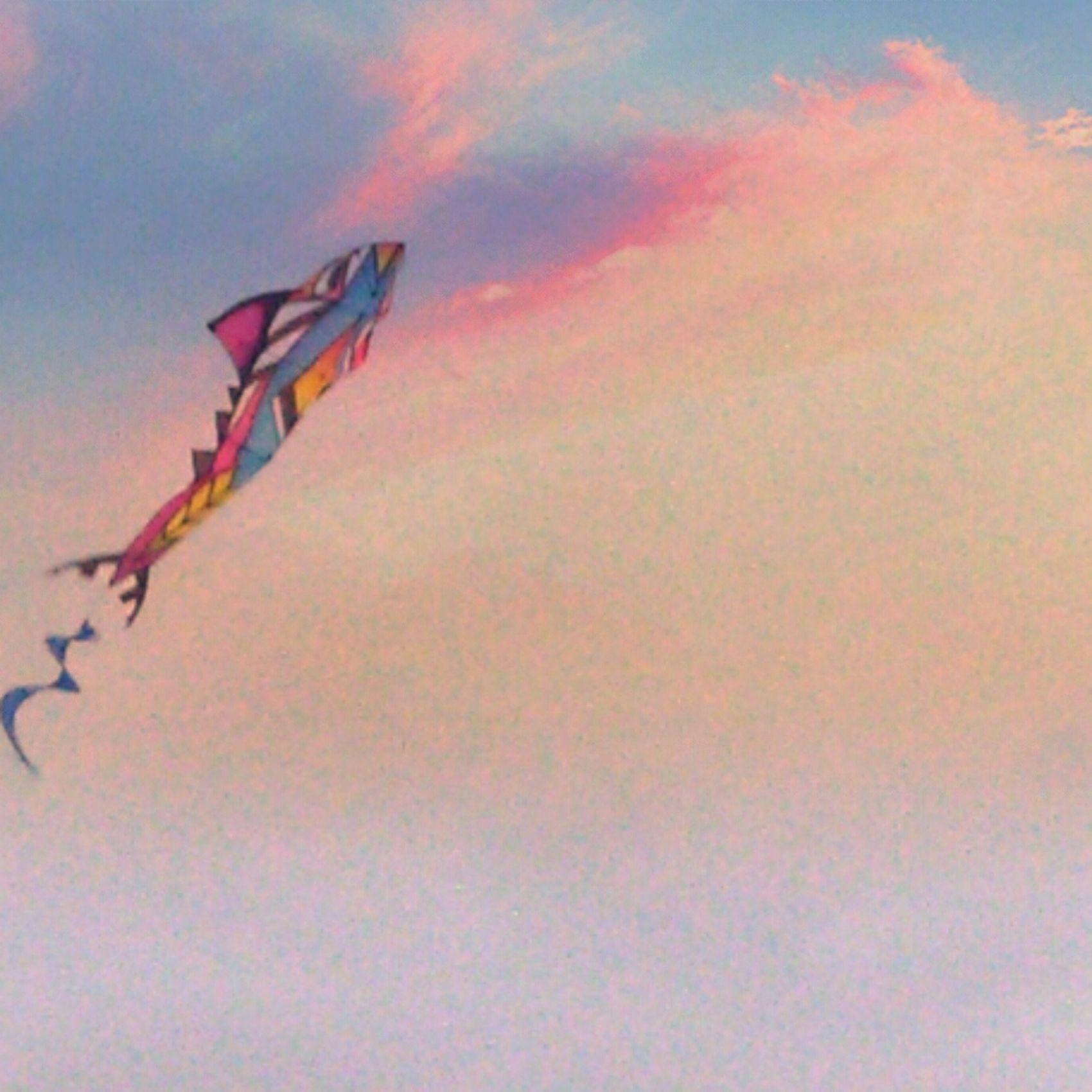 Cometas Kite Looking Up Mirar Arriba Enjoying Life Free FreeTime Photograpy Photoart Look Editing Photos Hello World Volar Para Ser Libre Light Colors Pastel Power