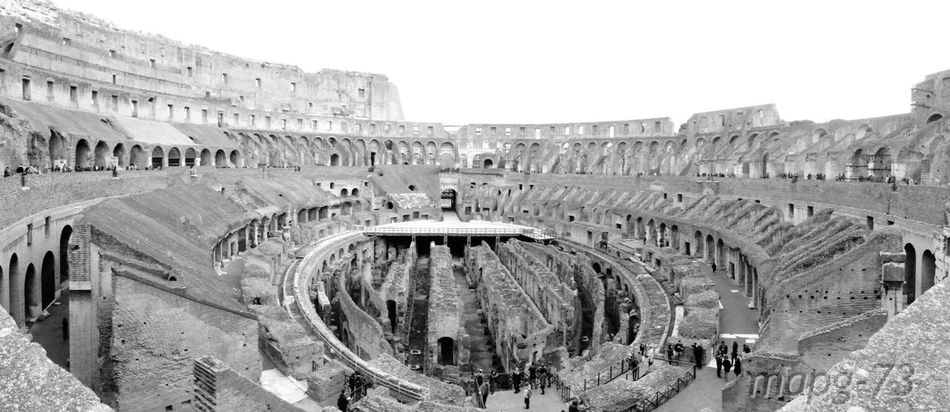 Colosseo Rome Historical Monuments Roman Ruins
