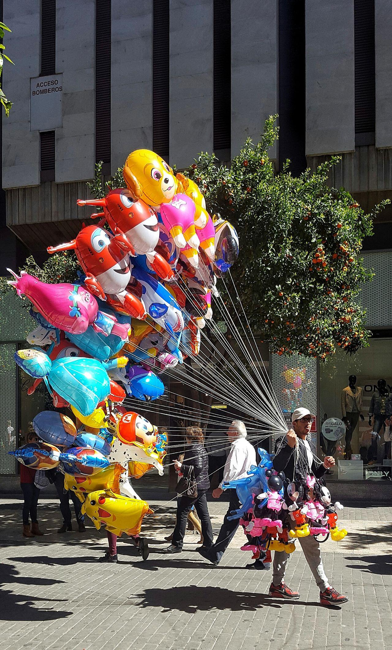 Globes Globos De Colores Globos Colores Colors Stretphotography Callejeando